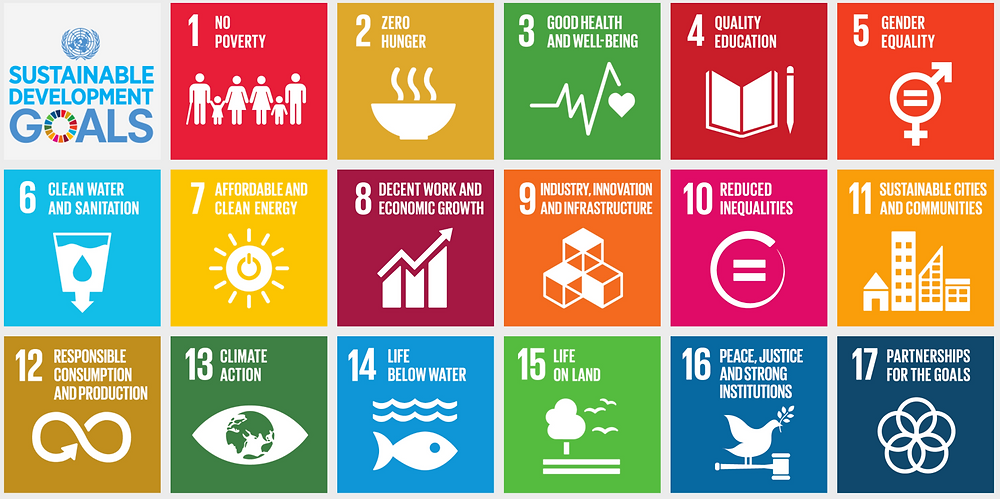 SDGs from the United Nations