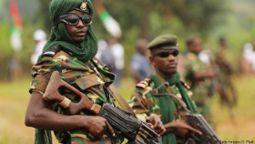 Two Soldiers in Burundi's Civil War