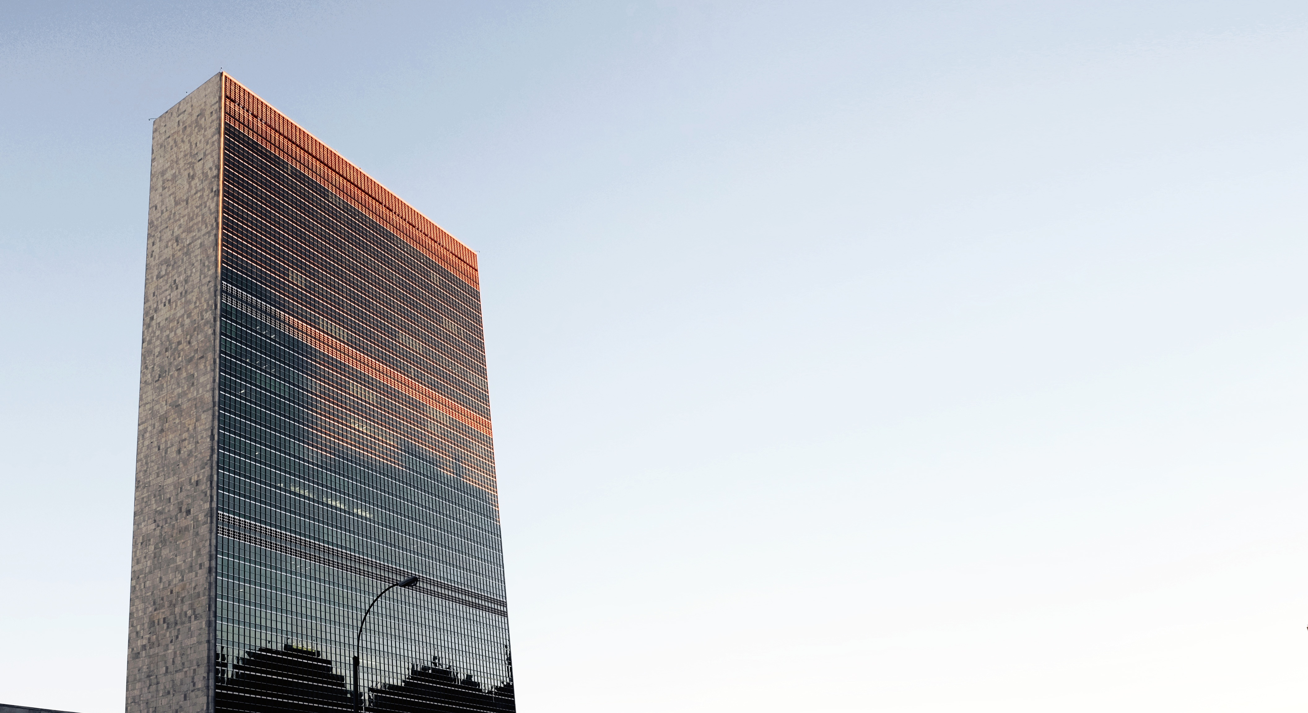 UN - pic of office building.