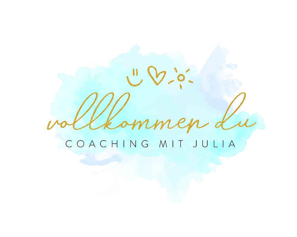 Mein neues Logo: vollkommen du, Coaching mit Julia