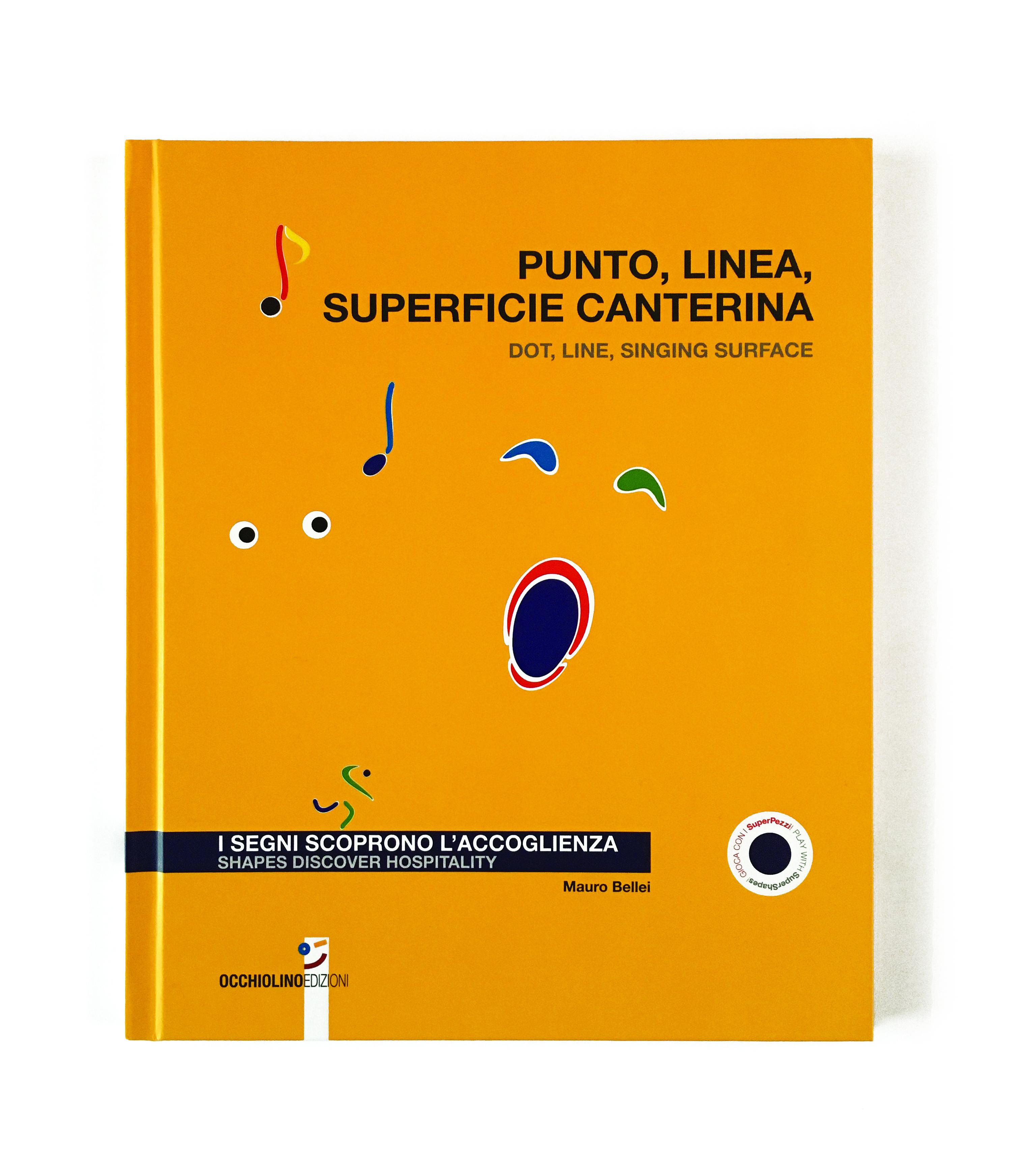 1 Punto, Linea, Superficie Canterina