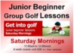 Junior coaching Saturday moornings small