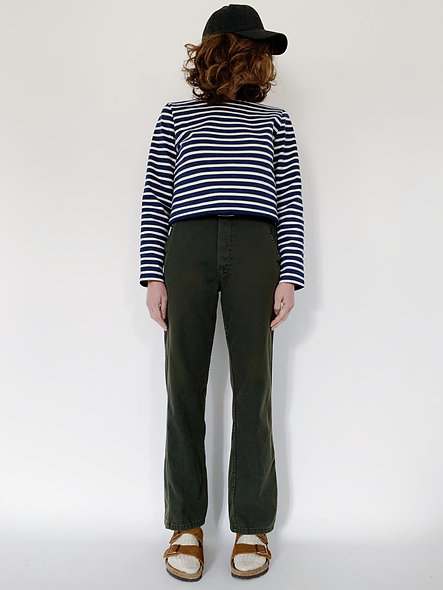 New Work Pant UK. Military Green Cut.