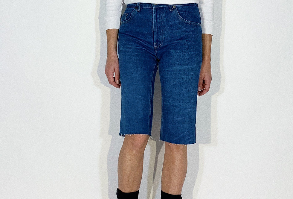 Bermudas 1960 American Jeans Pionneer Blue