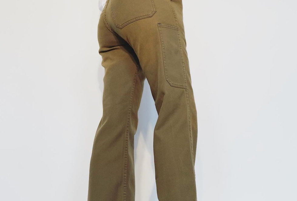 New Work Pant UK Grey Camel