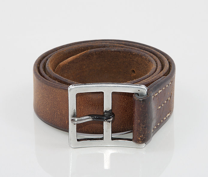 Hungary Belt 1940 Army Camel Brown