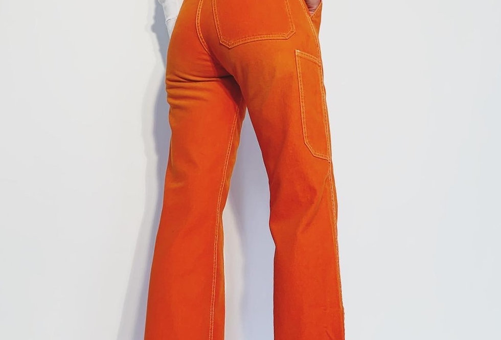 New Work Pant US Orange
