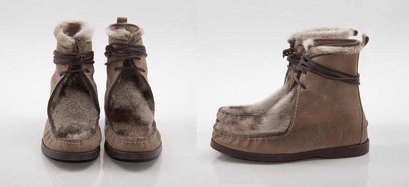 Indian Seal Boots Natural
