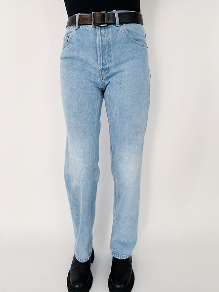 New US. Jeans 80 Bleach Holes.
