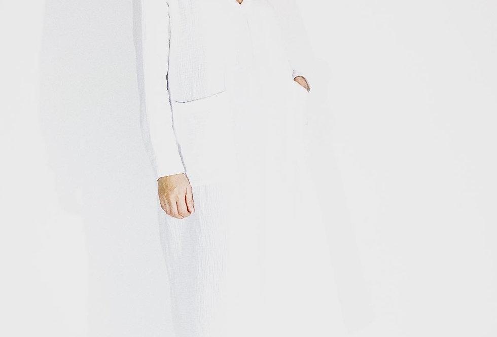 Maggy Crepon Blanc