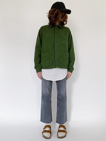 New Work Jacket UK. Green Kaki