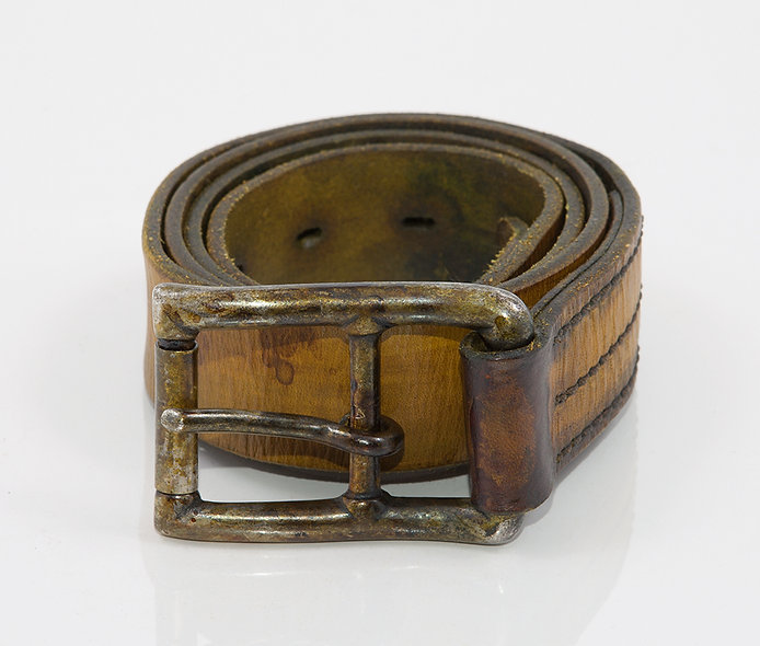 Military Belt 1950 Used Gold