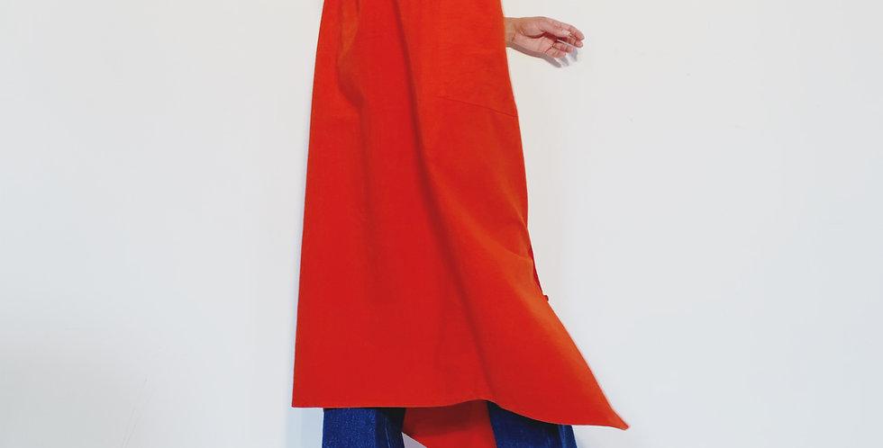 New Rola Coton Marbre Red Orange