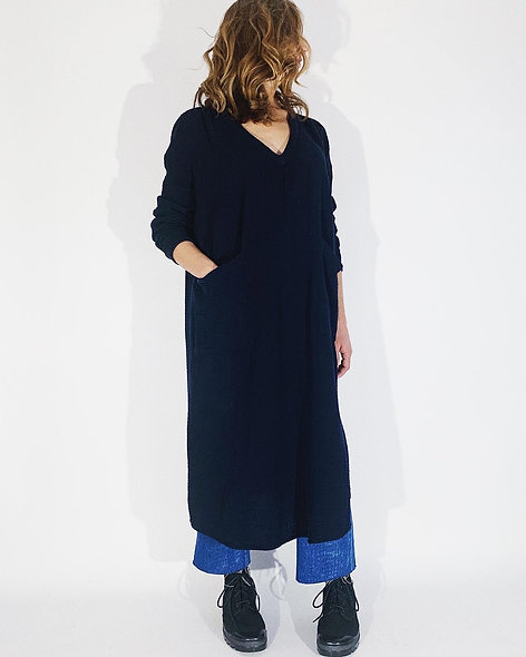 Maggy Crepon Navy