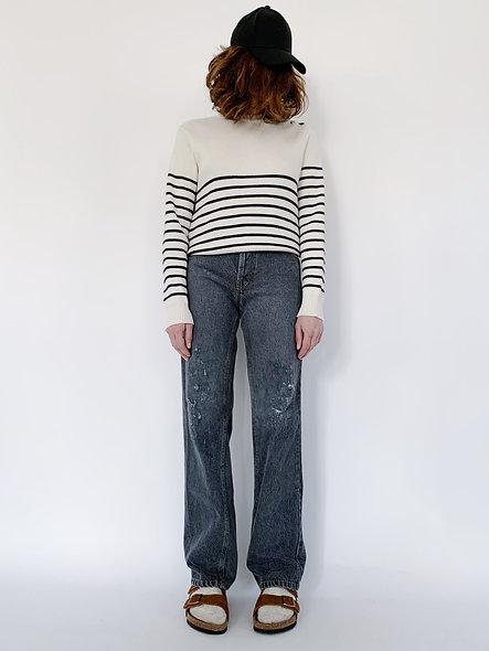 New Jeans 60 Dark Grey Holes