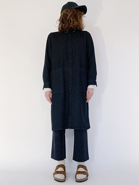 New Work Jeans Coat Black