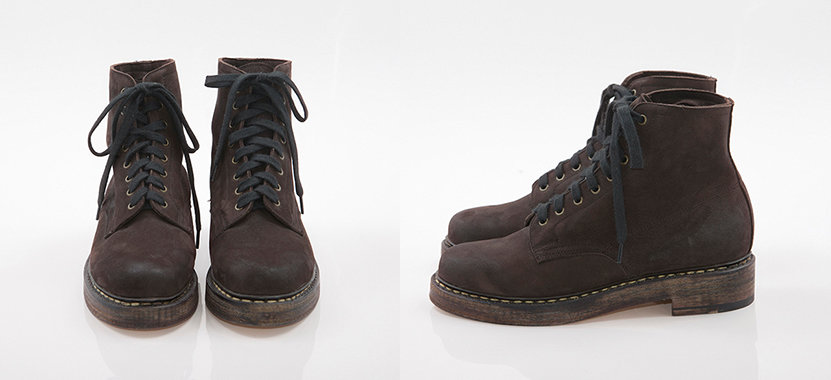 Brodequin Militaires Brown Used