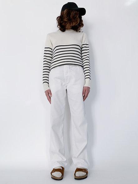 New Work Pant US. Blanc