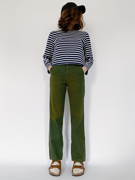 New Work Pant UK. Green Mousse
