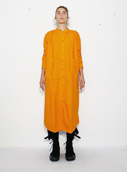New Rola Coton Marbre Orange Fluo