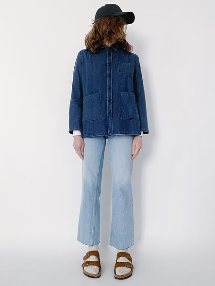 New Work Jeans Jacket Blue