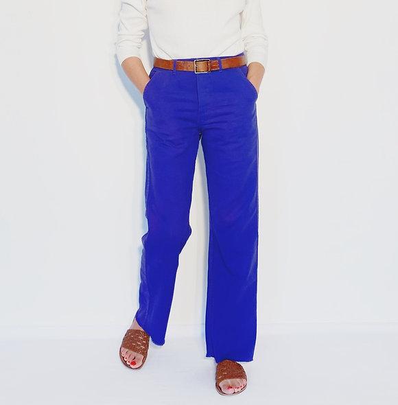 Wholesale Work Pant UK Royal Blue - Purple