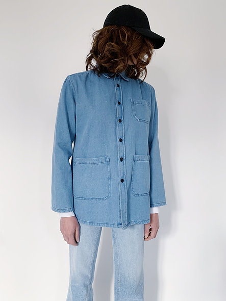 New Work Jeans Jacket Sky Blue