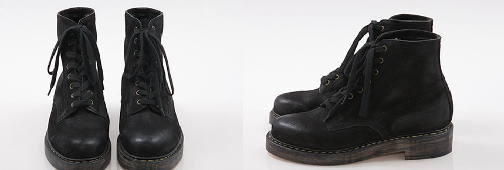 Brodequin Militaires Black Used