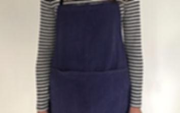 Mariniere rayée bleu et ecru vintage 100% coton
