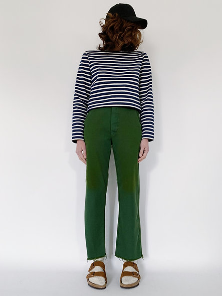 New Work Pant UK. Vert Bresil Cut.