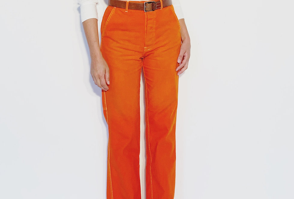 Wholesale Work Pant US Orange