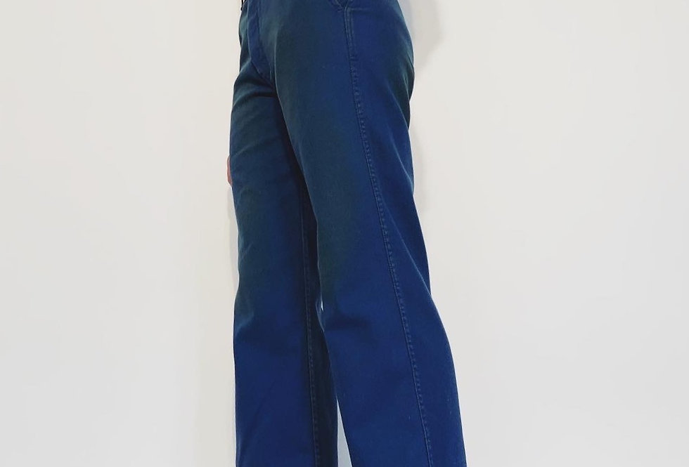 New Work Pant UK French Blue Yellow