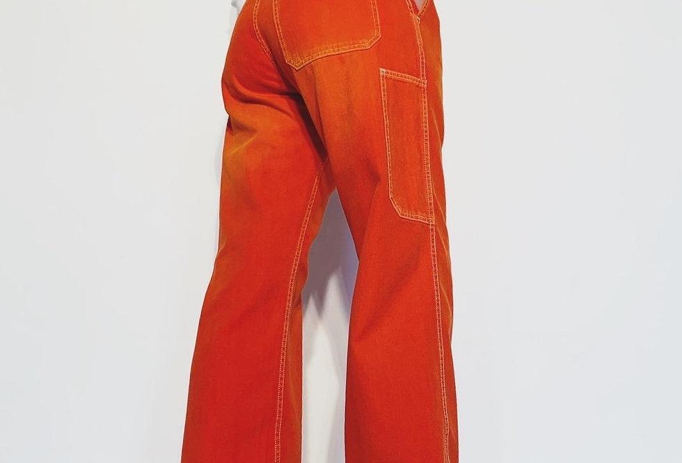 New Work Pant US Red Orange