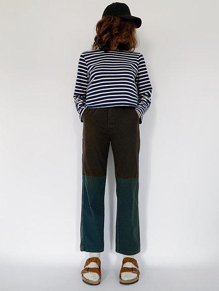 Work Pant ISR. Brown Blue