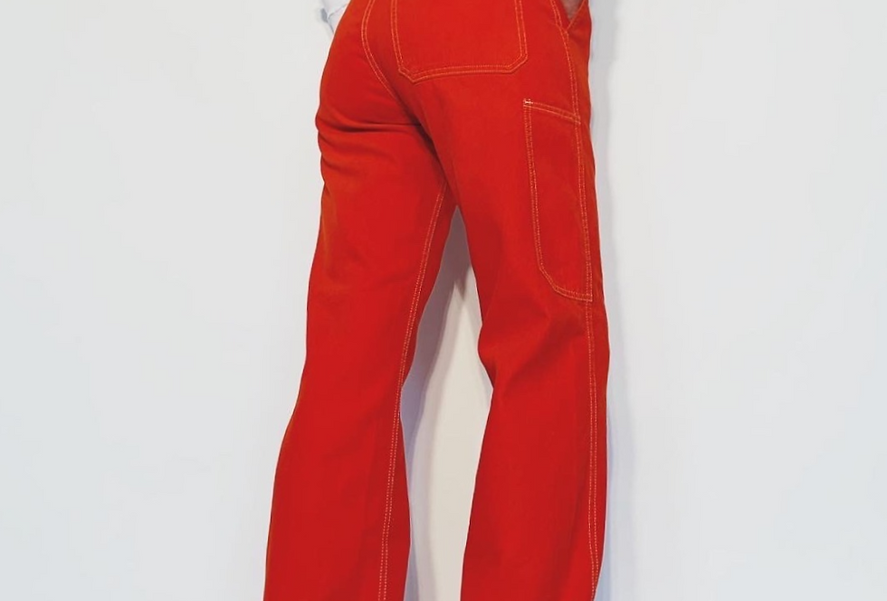 New Work Pant US Rouge