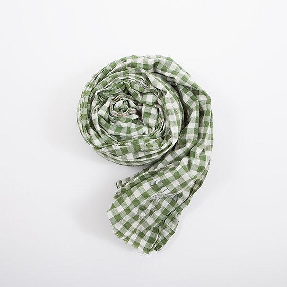 Echarpe Vichy Green Used