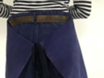 Pantalon de travail indigo vintage 100% coton