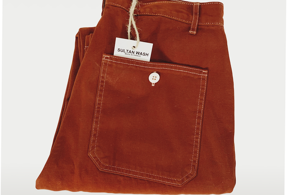 New Work Pant US Bourgogne