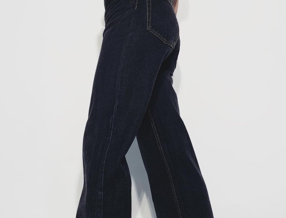 New 1960 American Jeans Black Brut
