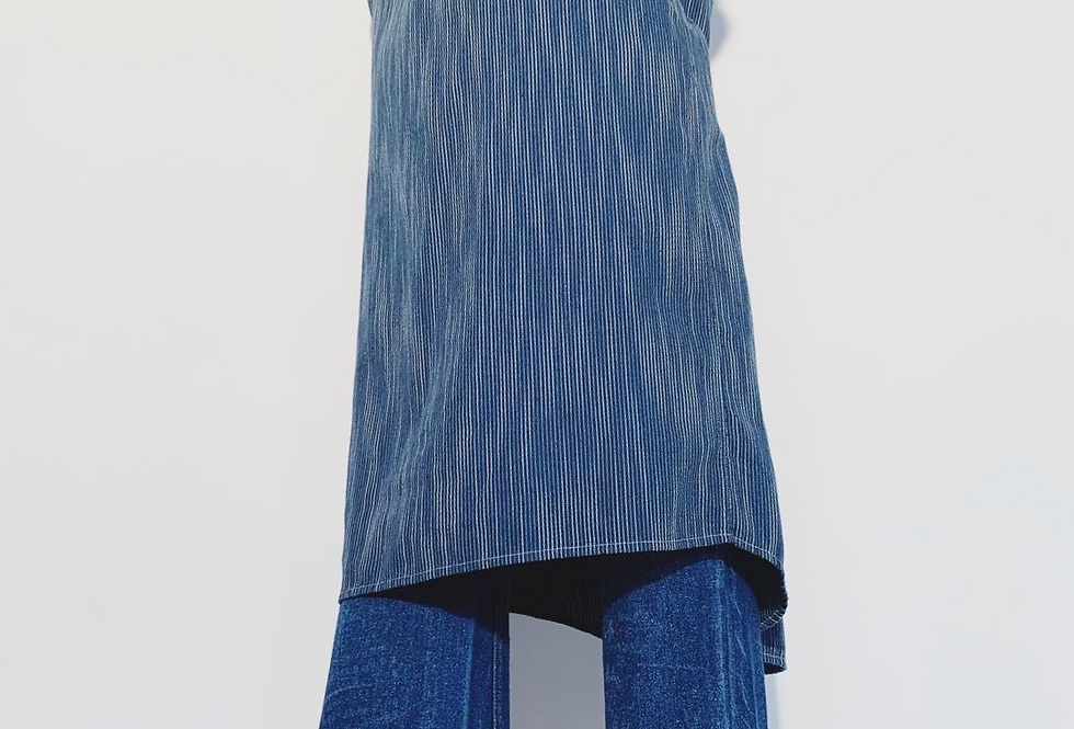 New Rola Rayures Geometriques Bleu Jean