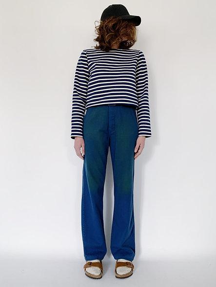 New Work Pant UK. Bleu Jaune