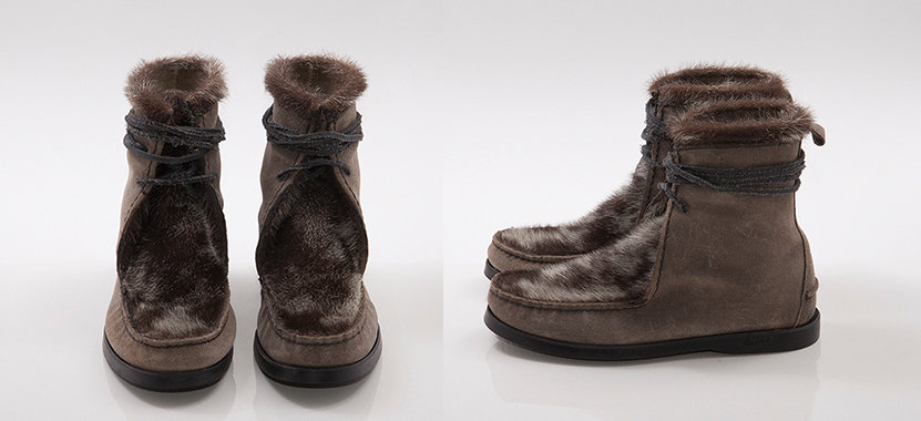 Indian Seal Boots Stone Black