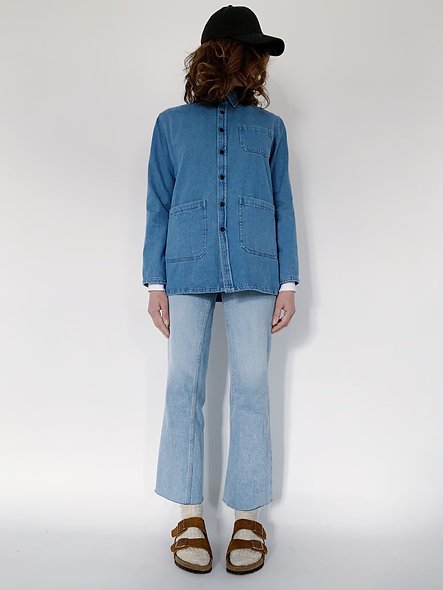 New Work Jeans Jacket Azur Blue