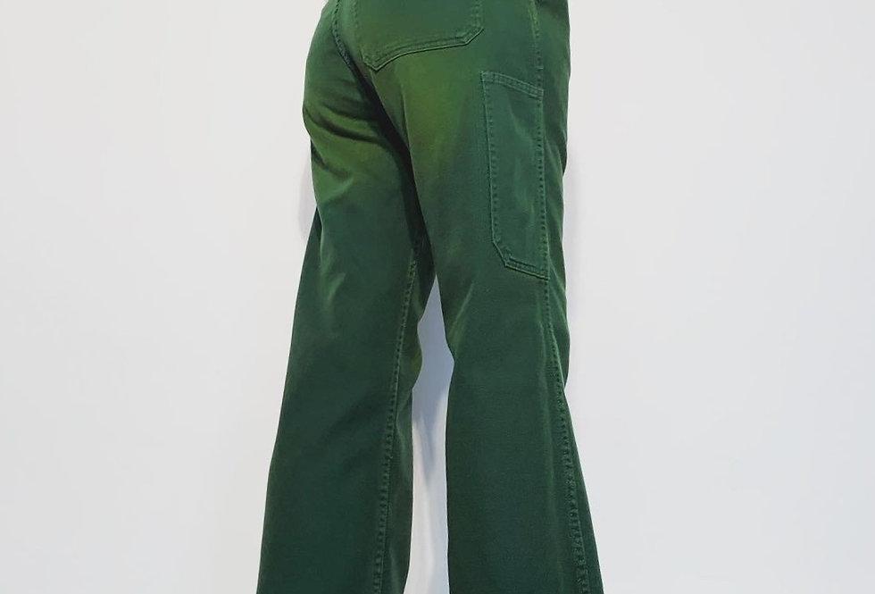 New Work Pant UK Green Yellow