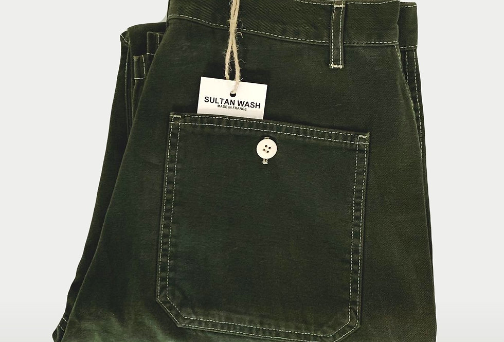 New Work Pant US Indian Green