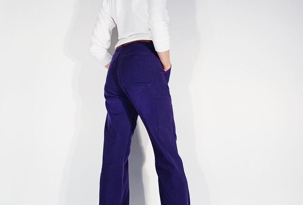New Work Pant UK Blue Purple