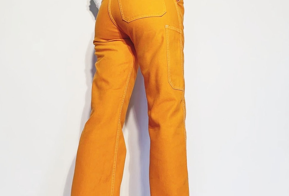 New Work Pant US Neon Orange