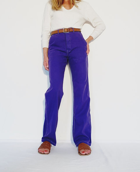 Work Pant US Purple