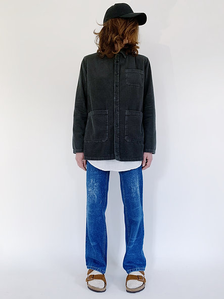 Work Jacket Corduroy Ardoise