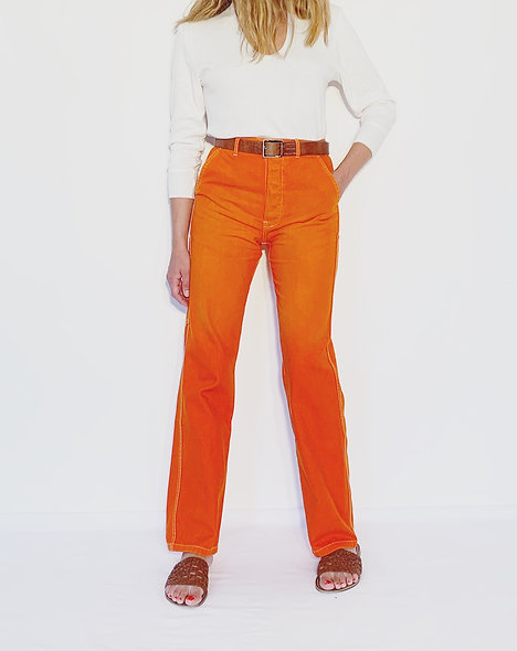 Work Pant US Orange